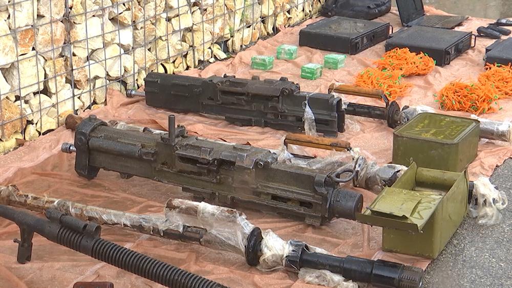 Изъятое оружие в Сирии