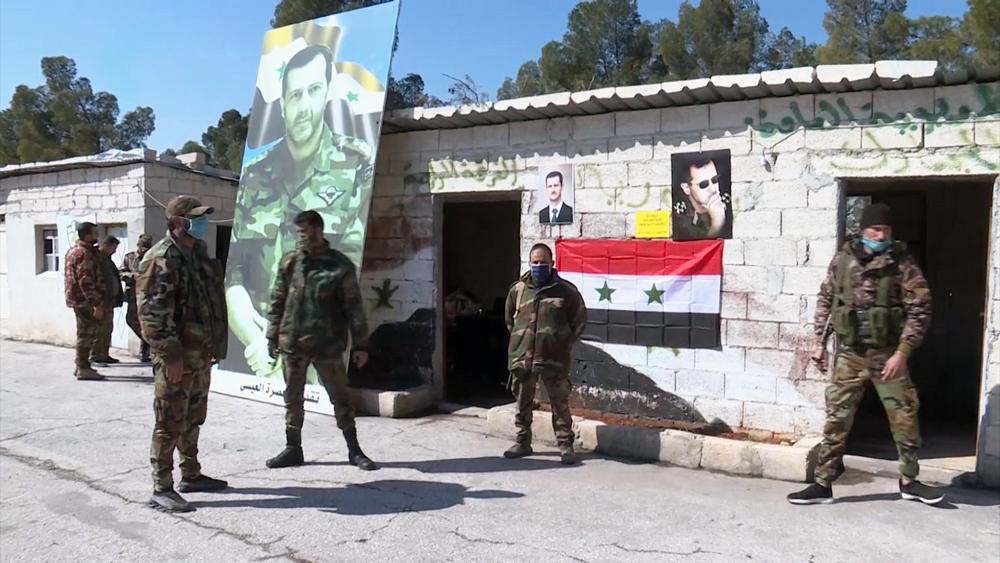 Пункт пропуска в Сирии