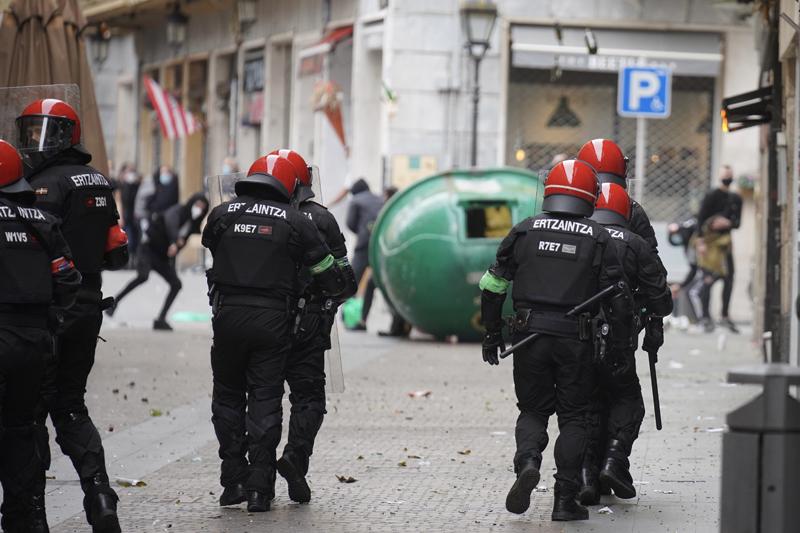 Беспорядки в Испании