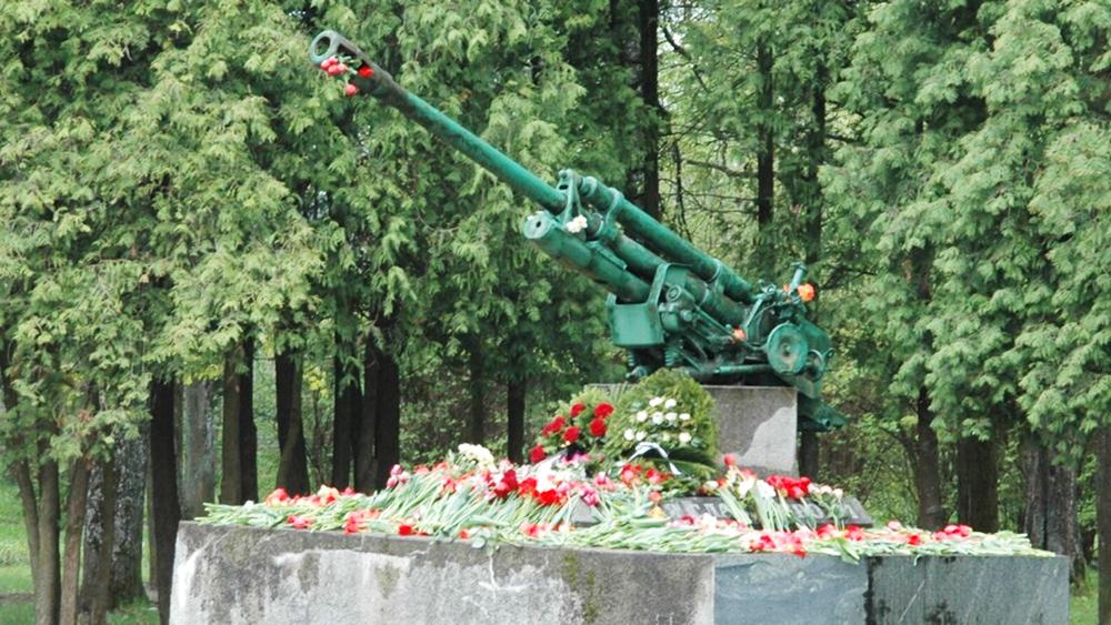 Памятник советским воинам в Латвии