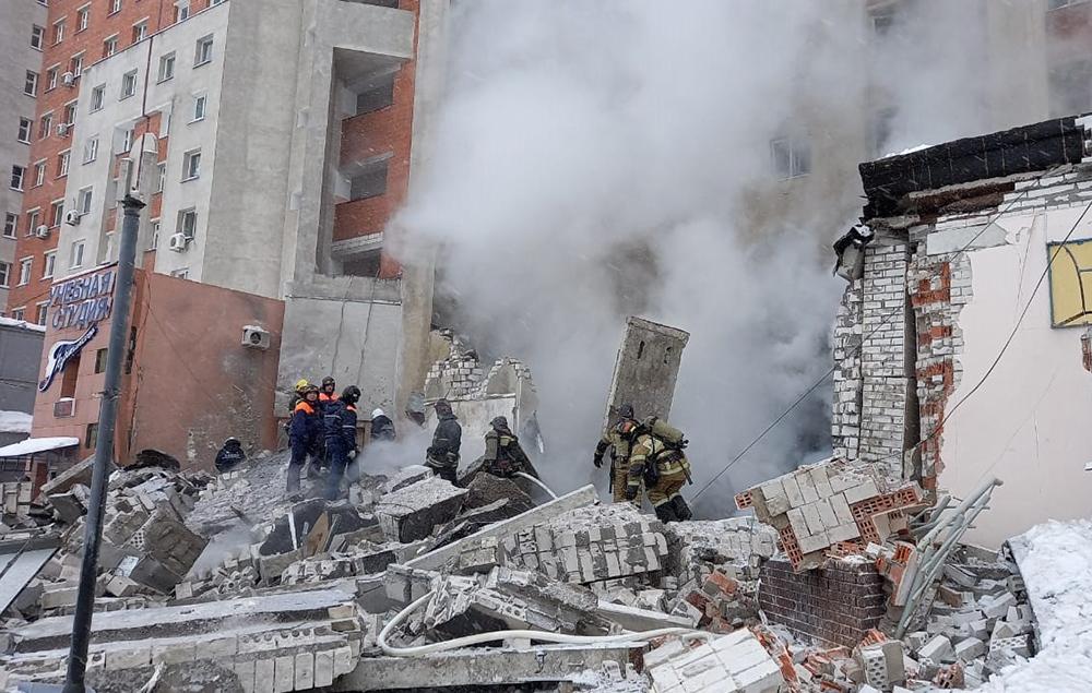 Взрыв газа в Нижнем Новгороде