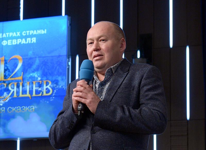 Кинопродюсер Игорь Каленов