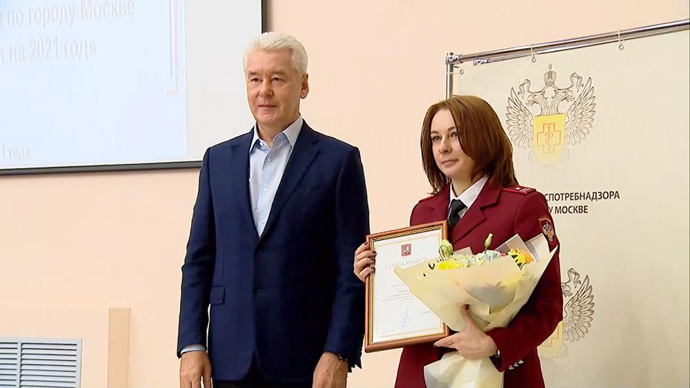 Награждение сотрудников Роспотребнадзора