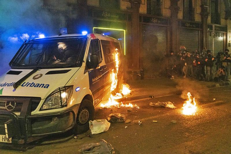 Протесты в ИспанииАвтор: © GlobalLookPress