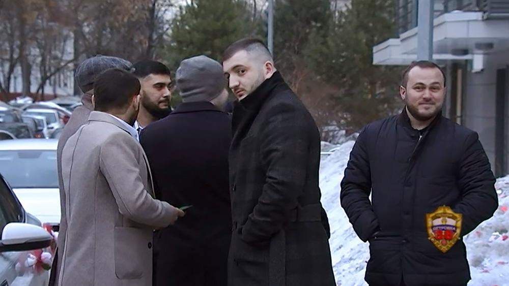 Участники задержанного кортежа
