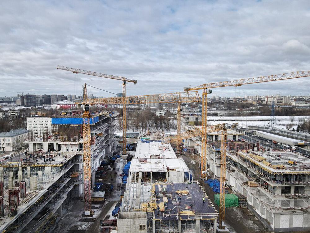 Строительство новых корпусов ИКБ № 1