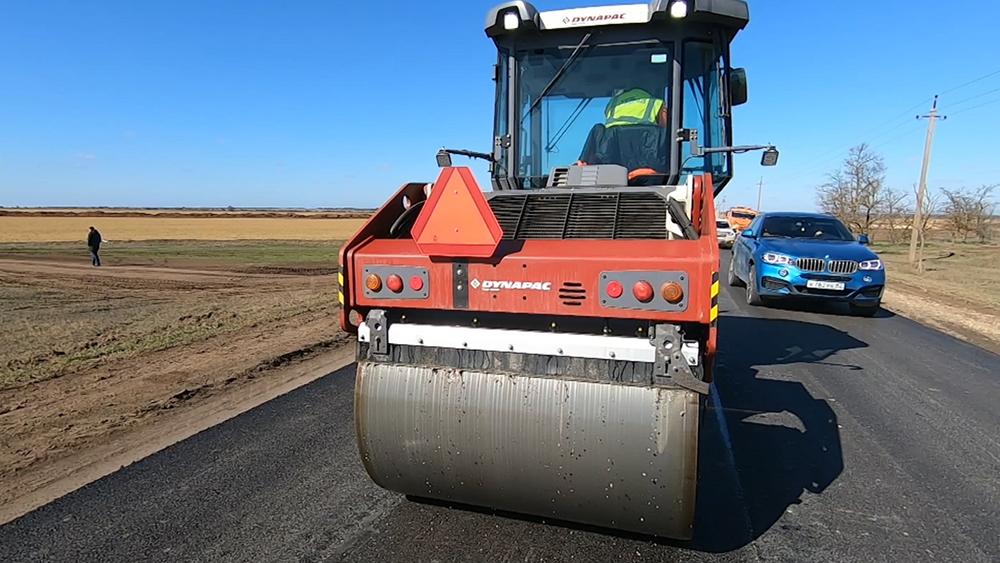 Дорожное строительство в Крыму