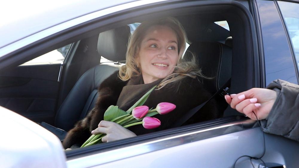 Поздравление автоледи с 8 Марта