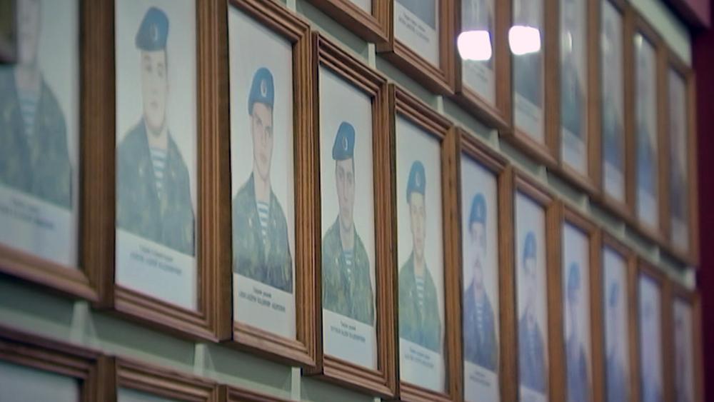 Фото погибших бойцов 6-й роты ВДВ
