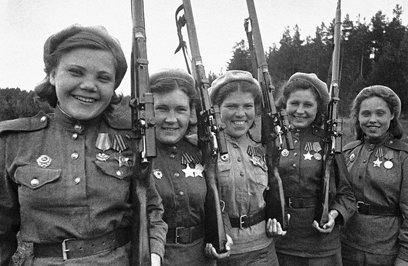 Кавалеры орденов Славы снайперы 2-й Прибалтийского фронта