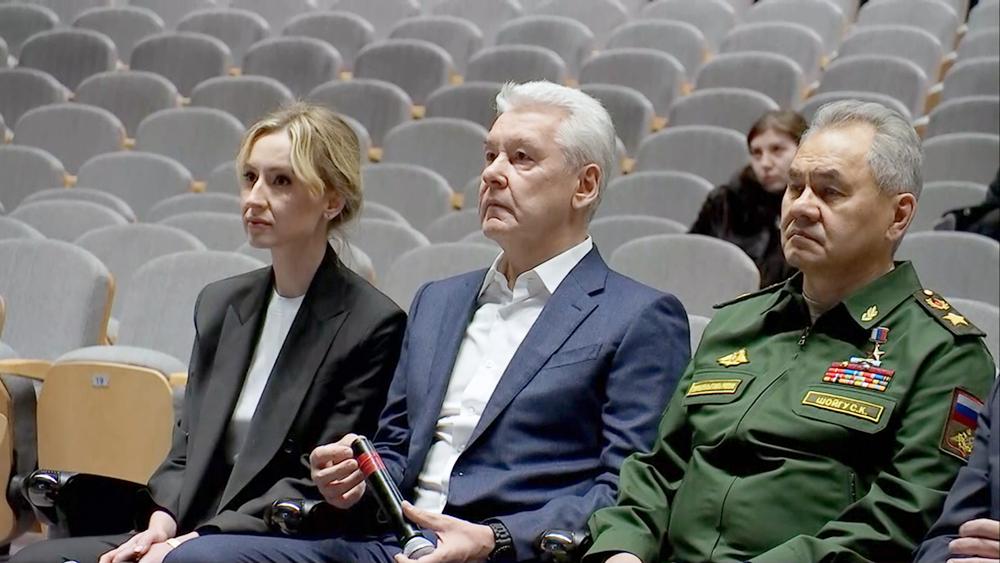 Сергей Собянин и Сергей Шойгу