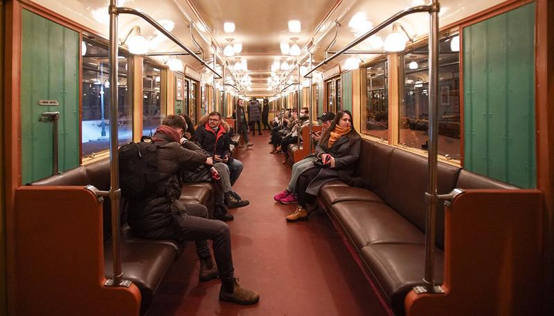 Ночная экскурсия на поезде 1934 года