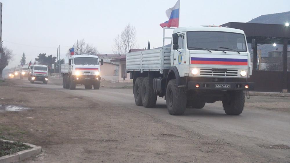 Гумпомощь в Нагорном Карабахе