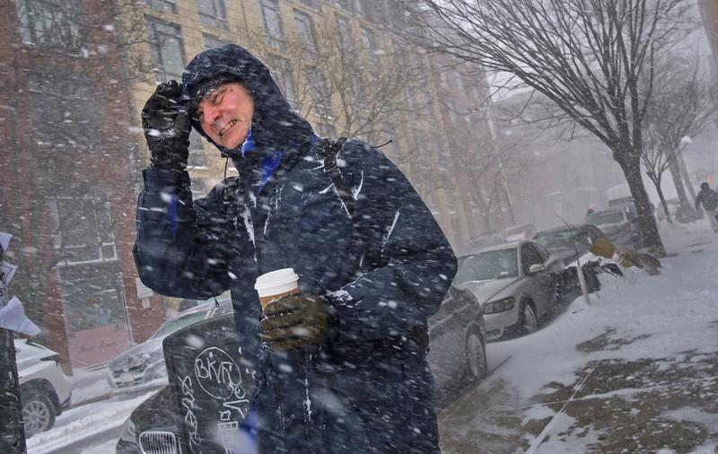 Метель и снегопад
