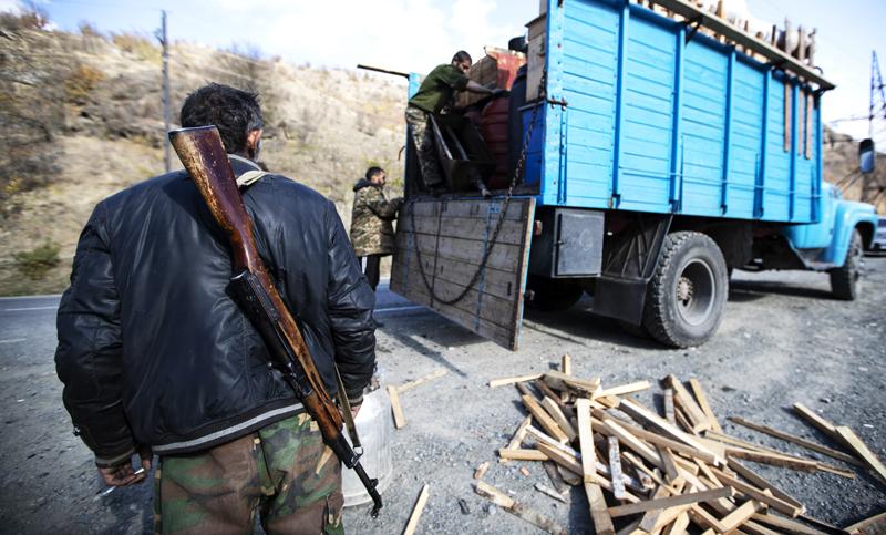 Нагорный Карабах после объявления перемирия между Арменией и Азербайджаном