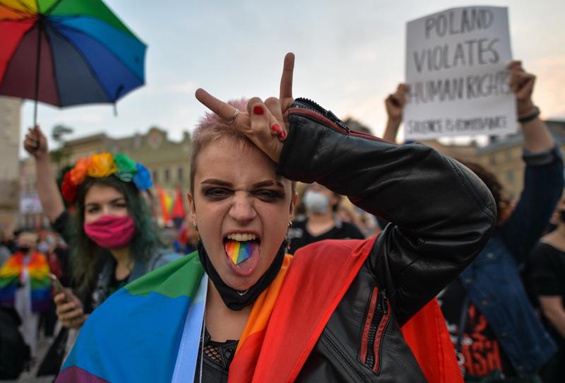 Представитель ЛГБТ сообщества