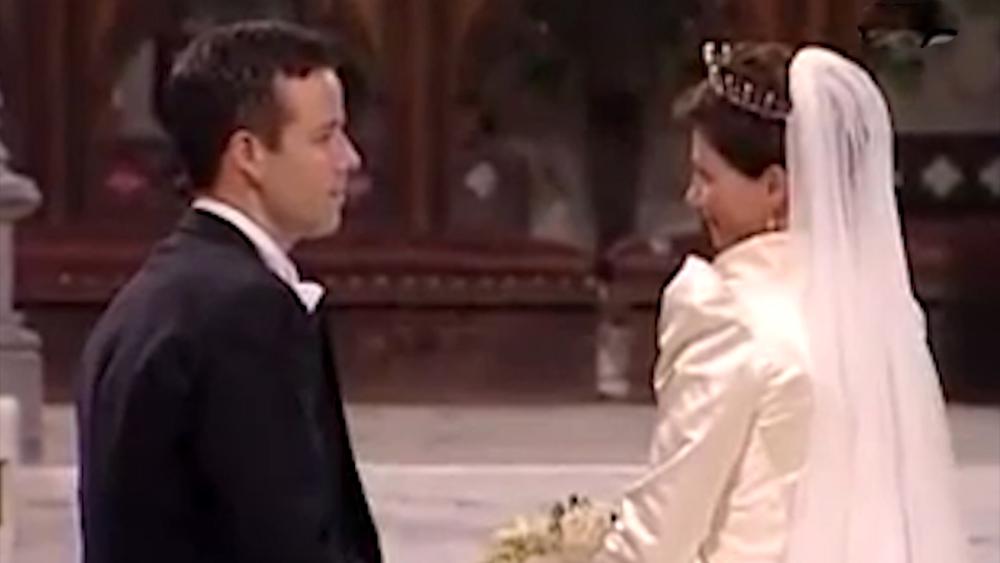 Писатель Ари Бен и принцесса Марта Луиза