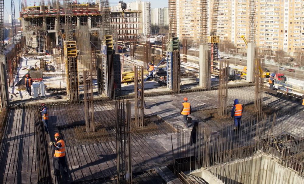 Cтроительство Национального космического центра в Москве