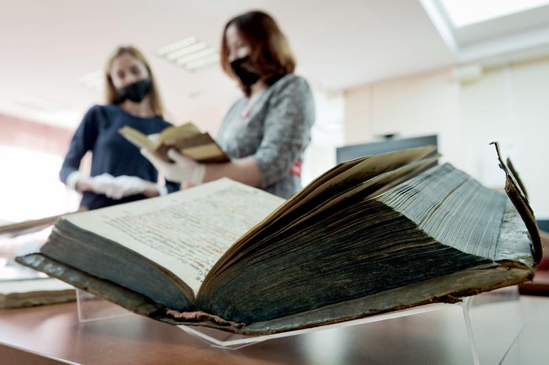 Посетители библиотеки