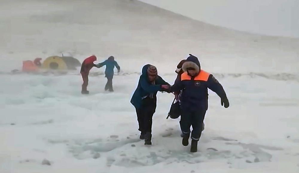 Снегопад и метель