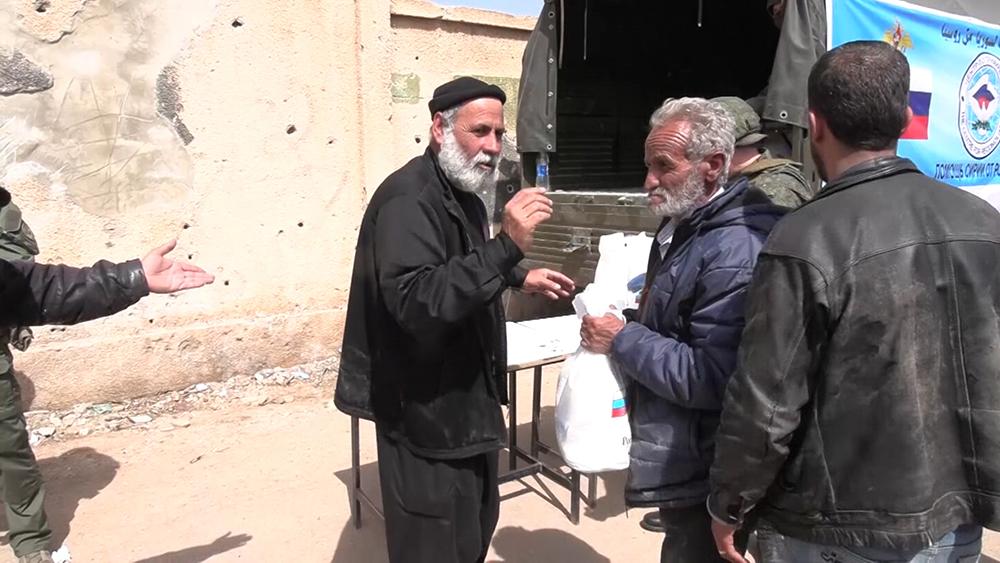 Гуманитарная акция в Сирии