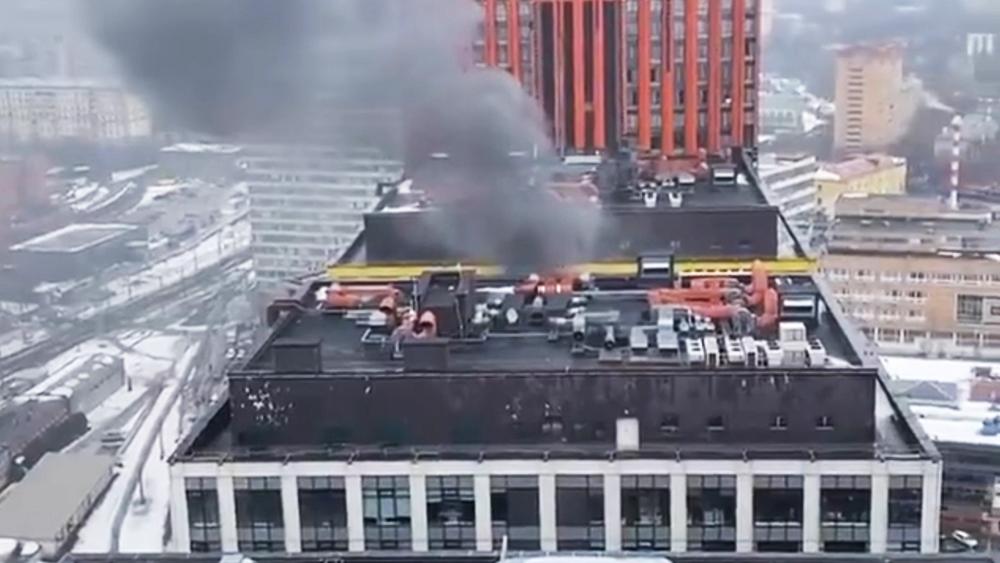 """Пожар в бизнес-центр """"Савеловская Сити"""""""