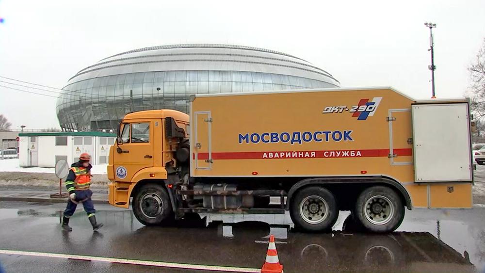 Аварийная служба Мосводосток