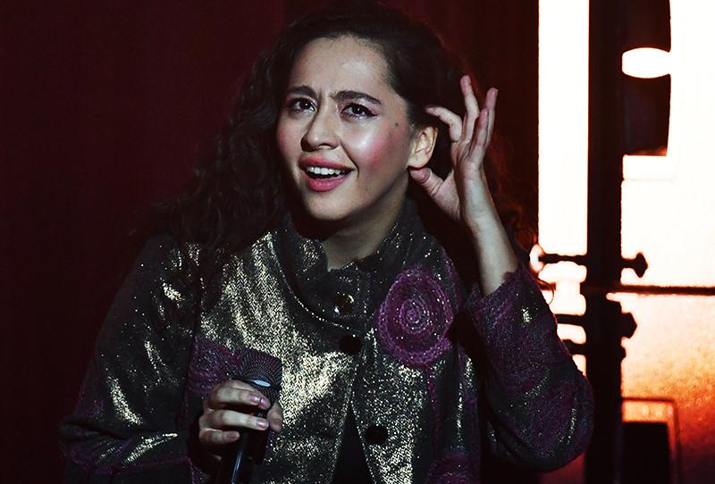 Певица Manizha (Манижа)