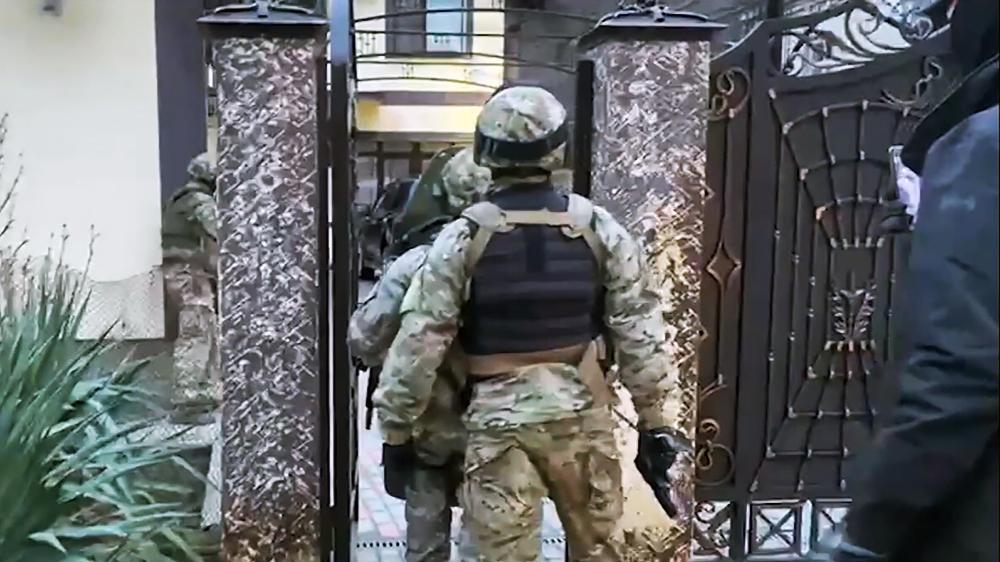 Задержание неонацистов в Геленджике