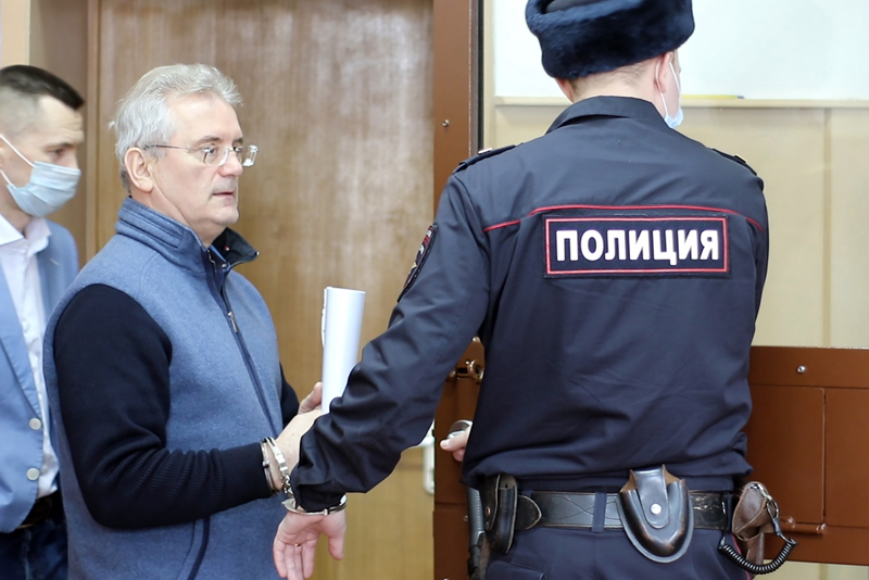 Иван Белозерцев в Басманном суде