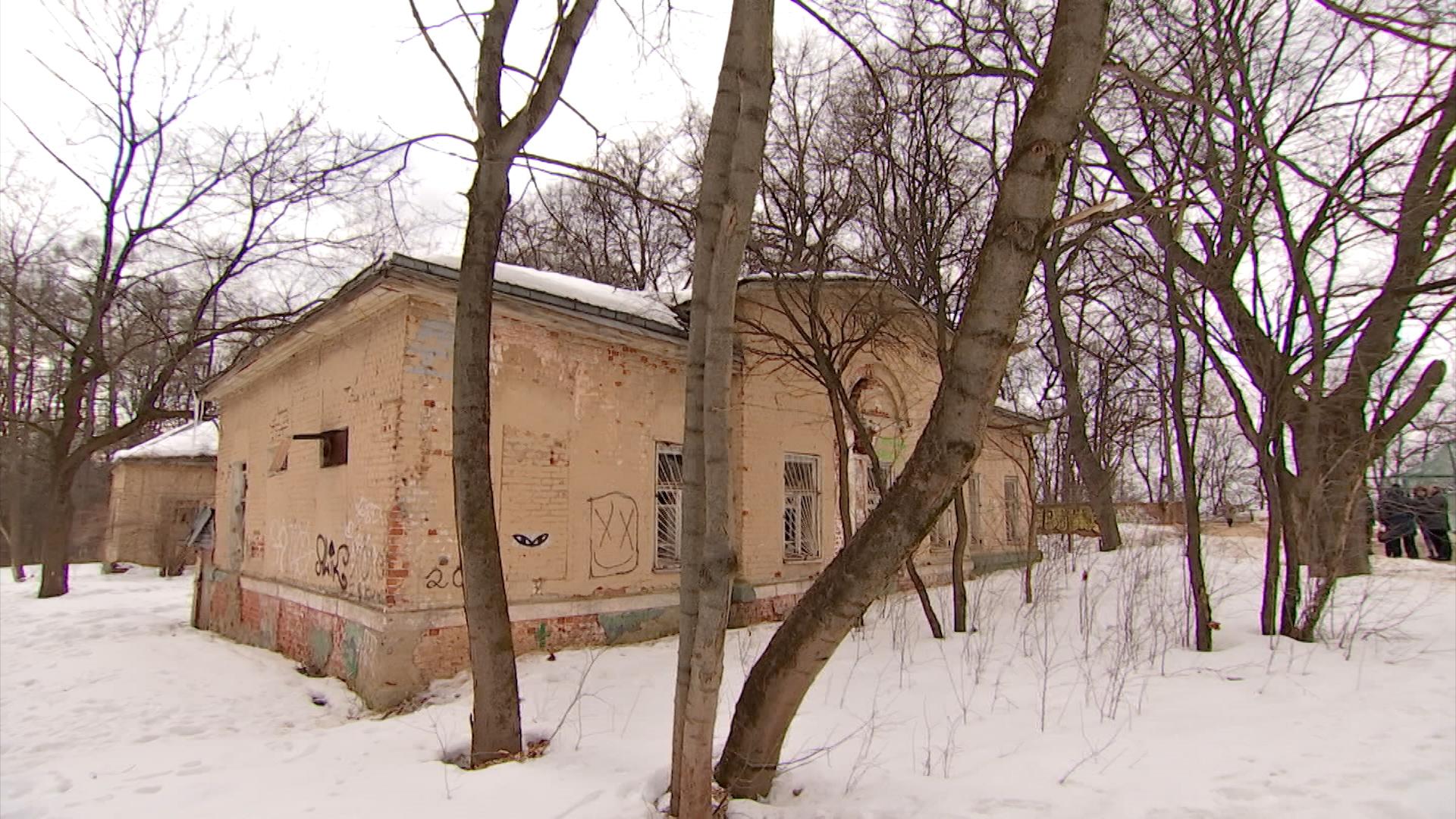 Реставрация усадьбы Нарышкиных