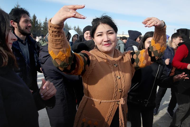 Празднование Навруза в Казани