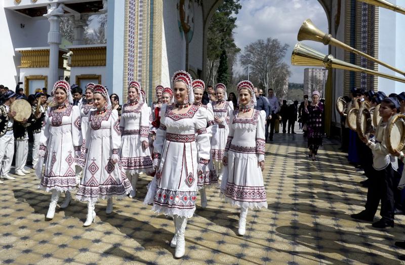 Празднование Навруза в Таджикистане