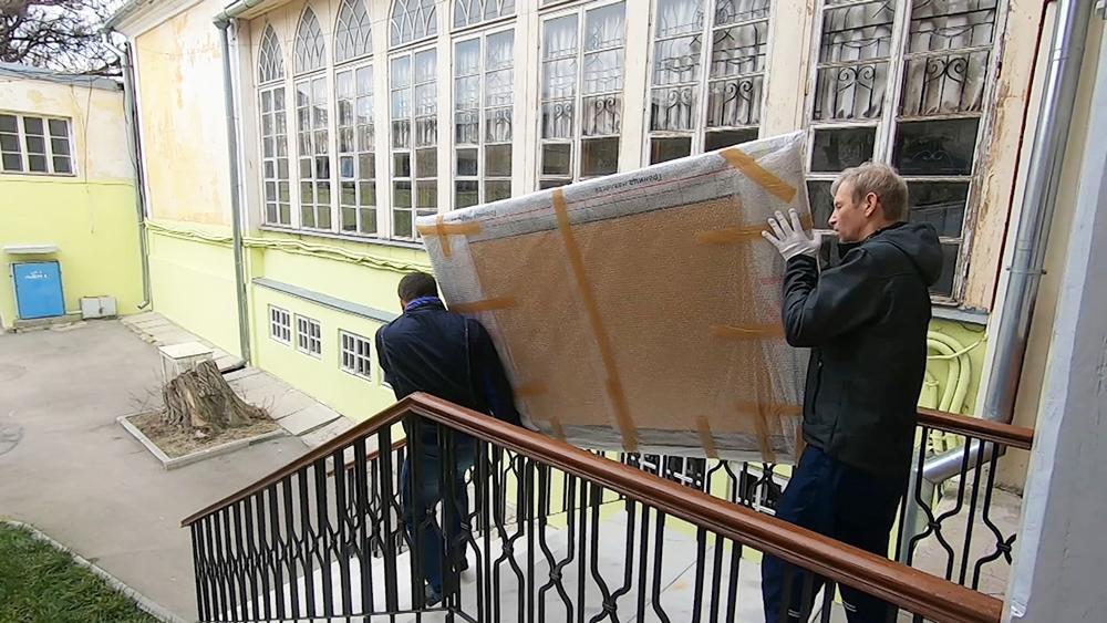 Реконструкция в галерее Айвазовского в Феодосии