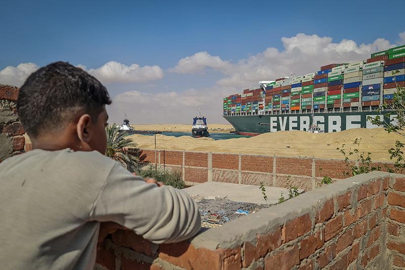 Блокировка Суэцкого канала
