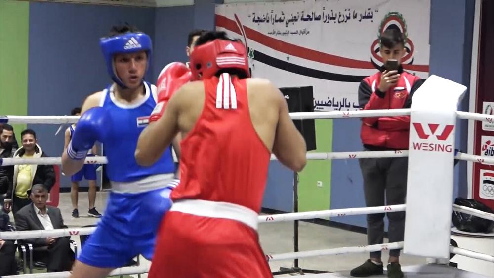 Турнир по боксу в Сирии