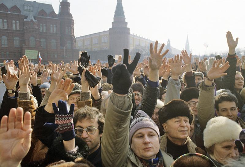 Митинг в СССР