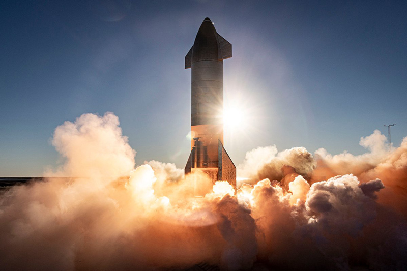 Прототип космического корабля SpaceX SN11