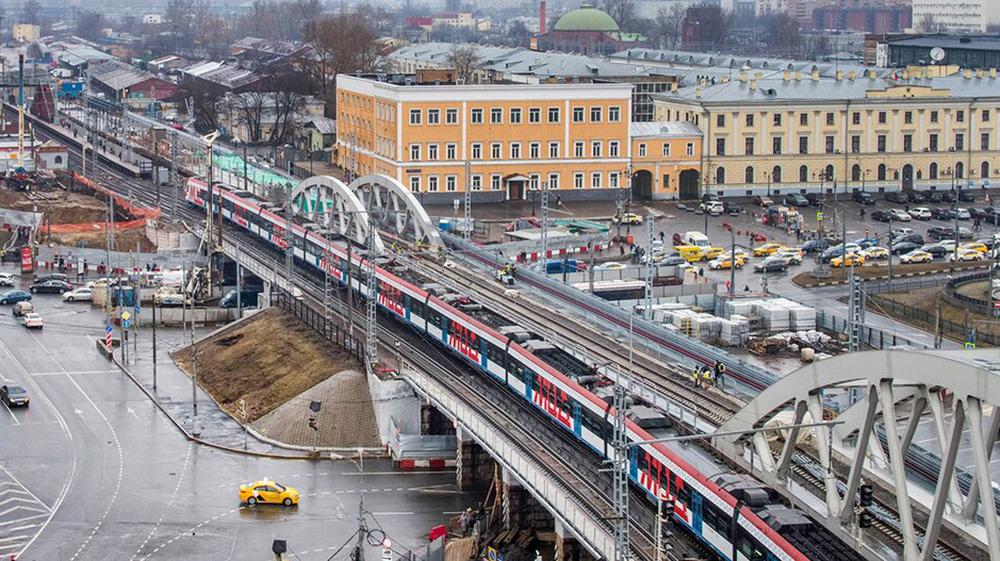 Реконструкция участка Каланчёвская – Курская МЖД