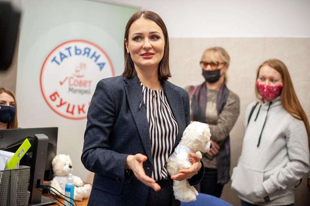 """Председатель """"Совета матерей"""" России Татьяна Буцкая"""