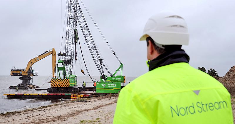 """Строительство газопровода """"Северный поток - 2"""""""
