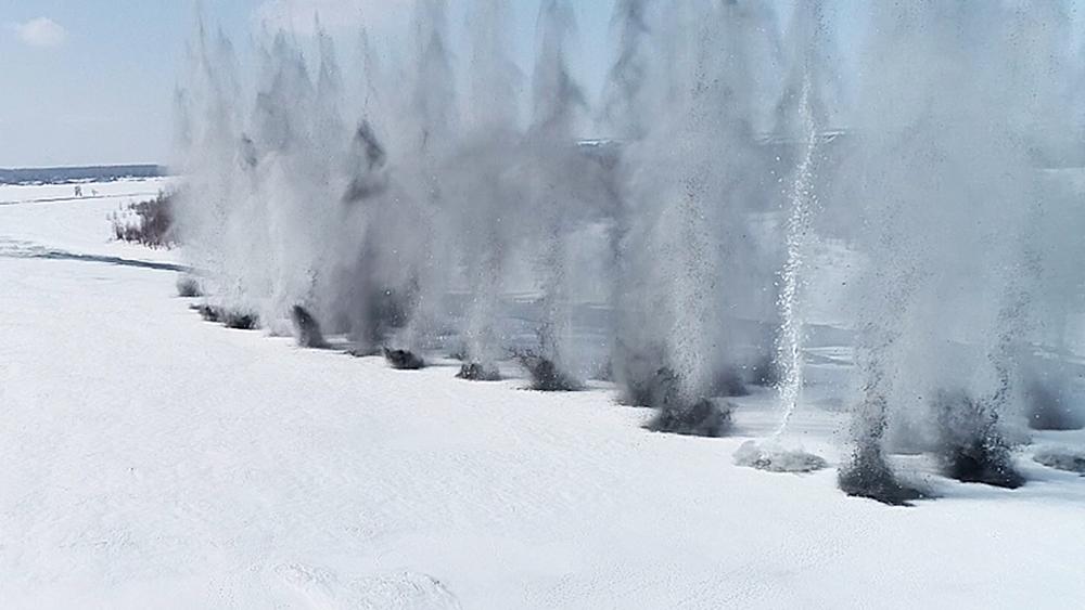 Подрыв льда