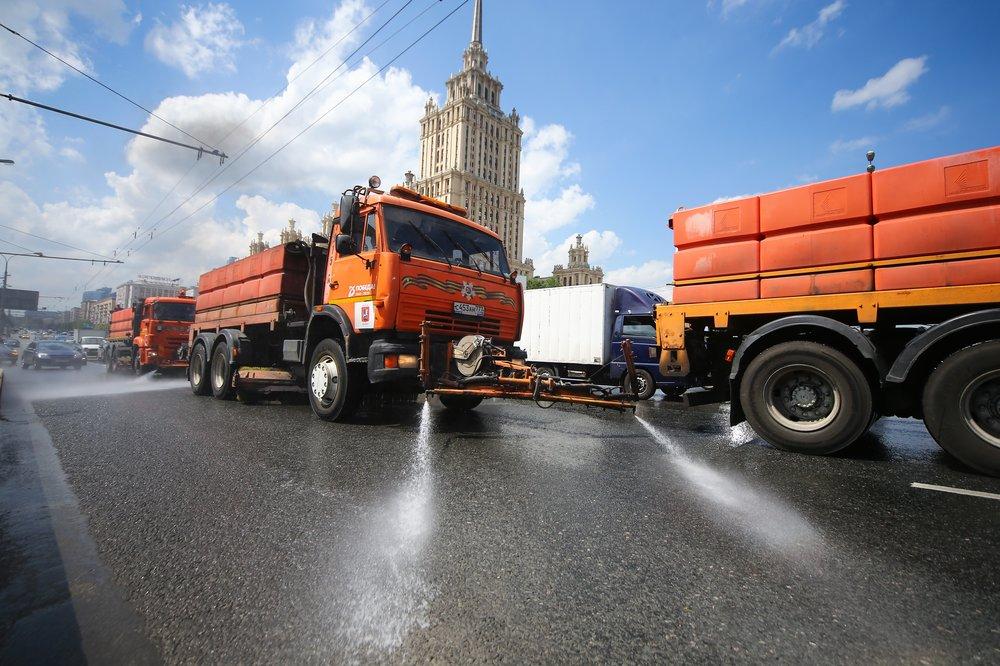 Промывка улиц