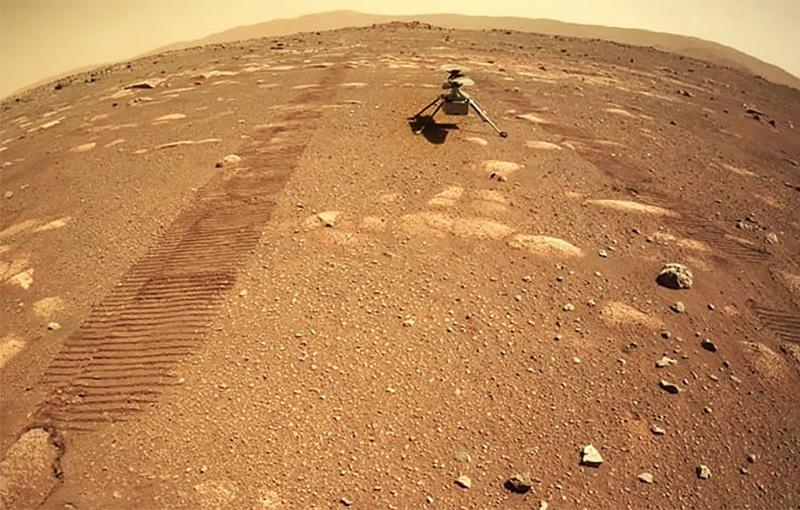 Марсианский коптер Ingenuity