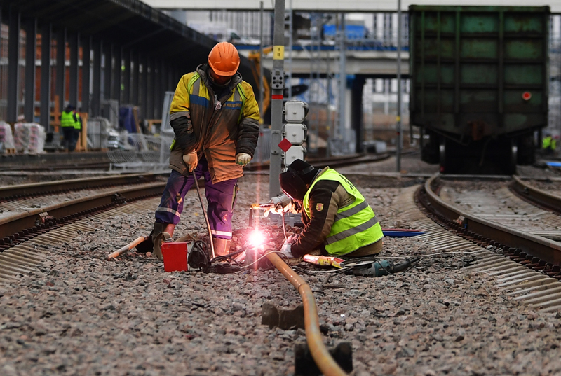 Строительство нового вокзального комплекса Восточный