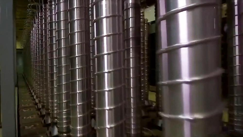 Испытания центрифуги в Иране