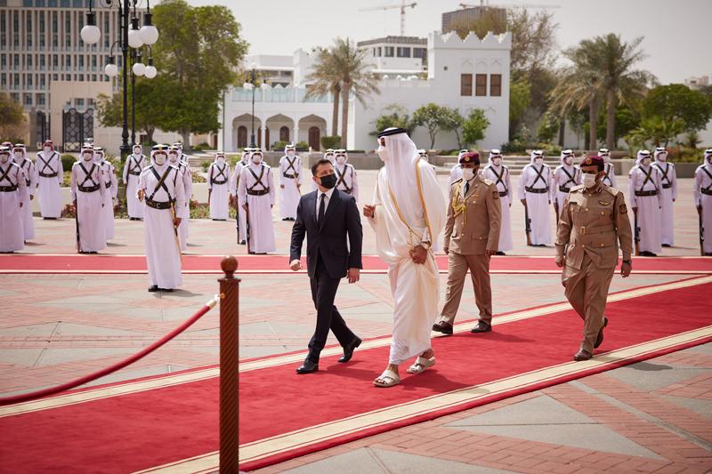 Визит Владимира Зеленского в Государство Катар