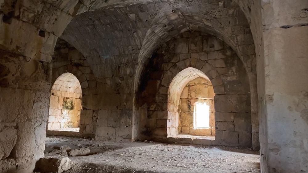 Замок Салах ад-Дина в Сирии