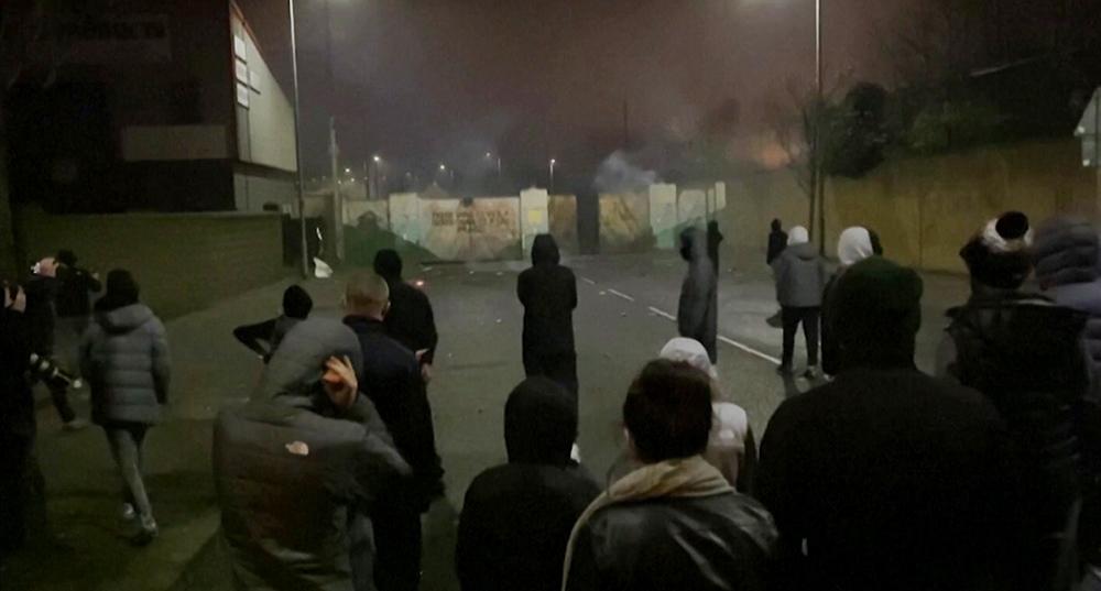 Беспорядки в Северной Ирландии