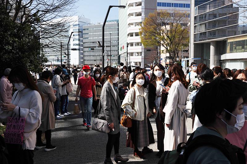 Эпидемия коронавируса в Японии
